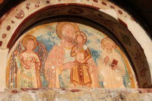 Lunetta della chiesa Santa Maria Maggiore-Pic: Dante Sacco