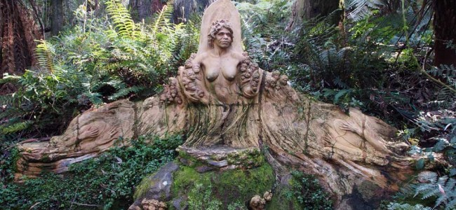 L'omaggio agli aborigeni al William Ricketts Sanctuary