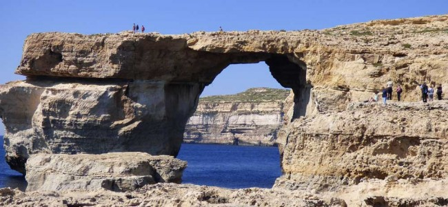 Crolla la Azure Window, simbolo di Malta