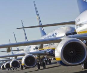 Ryanair cancella fino al 25% dei voli a corto raggio italiani