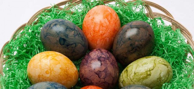 Le uova colorate per la Pasqua Ortodossa