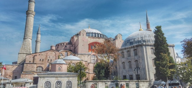 La magnifica Ayasofya di Istanbul